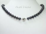Pearl Necklace Bracelet with Magnetic Clasp