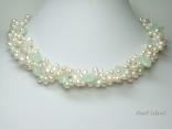 Oval Pearls & Jade