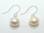Prestige White Pearl Earrings 7-8mm