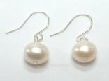 Prestige White Pearl Earrings 7-8mm