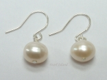 Prestige White Pearl Earrings 6-7mm
