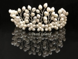 Pretty Princess Freshwater Pearl Wedding Tiara