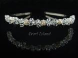 Petite Freshwater Pearl Wedding Tiara