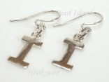 Sterling Silver Initial I Earrings
