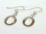 Sterling Silver Initial O Earrings