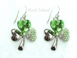 Clover Shamrock Earrings