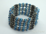 Turquoise Pearls Magnetic Necklace / Bracelet