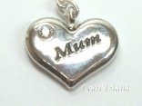 Clip on Charms - Mum Heart Charm