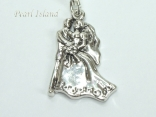 Clip on Charms - Dancing Bride & Groom Charm