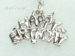 Clip on Charms - Happy Birthday Charm