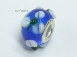 Murano Glass Bead_Blue 1