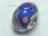 Murano Glass Bead_Blue 2