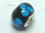 Murano Glass Bead_Blue 3