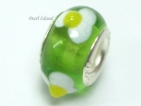 Murano Glass Bead_Green 1